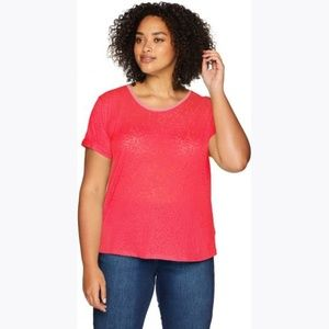 New COLUMBIA Women's Red Sandy River Tee sz M NWT